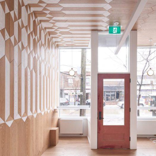 Milky's coffee bar by Batay-Csorba Architecture