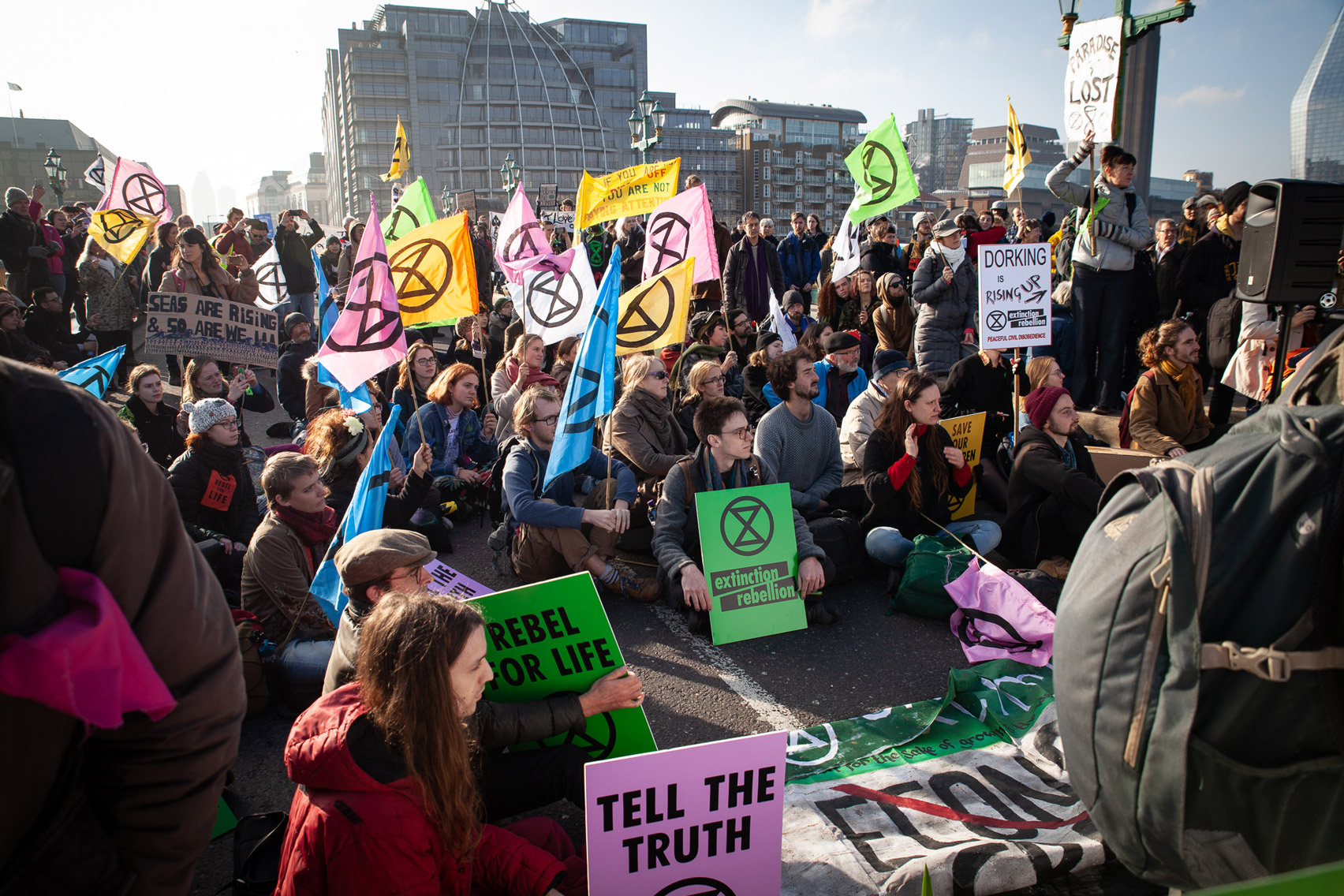 Toxic philanthropy: Extinction Rebellion uses graphic design to protest climate change