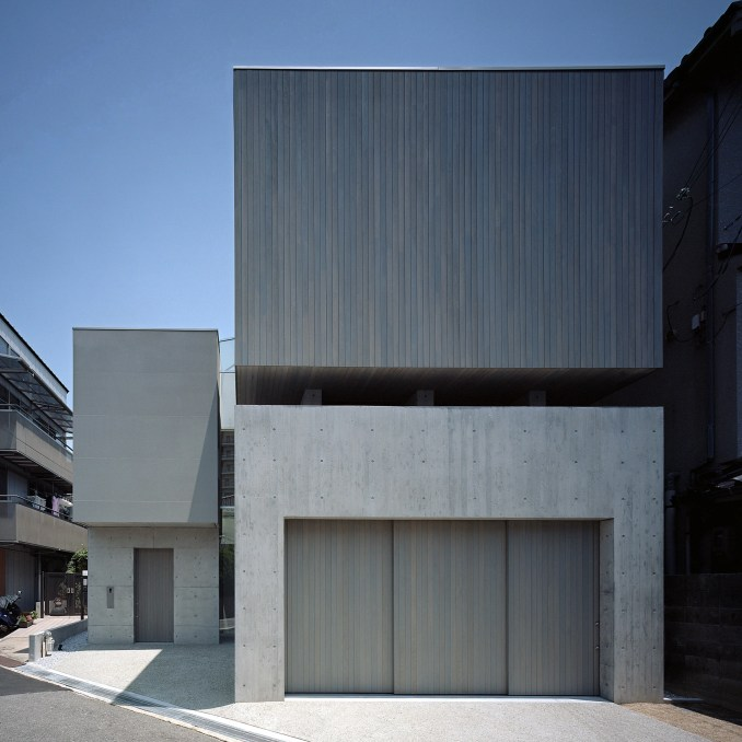 Japanese houses: House in Toyonaka by Fujiwaramuro Architects