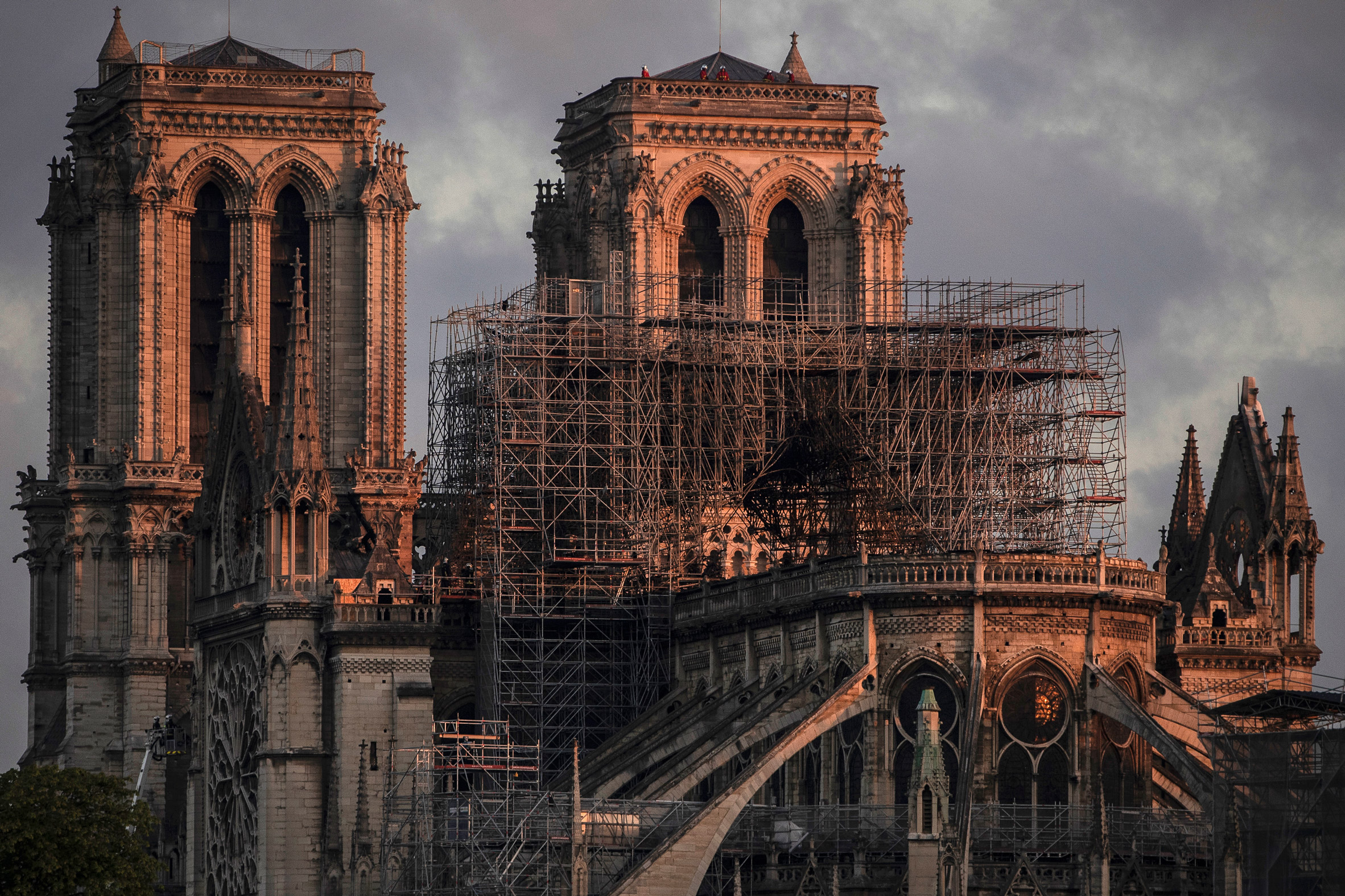 Notre Dame could take decades to repair after the fire