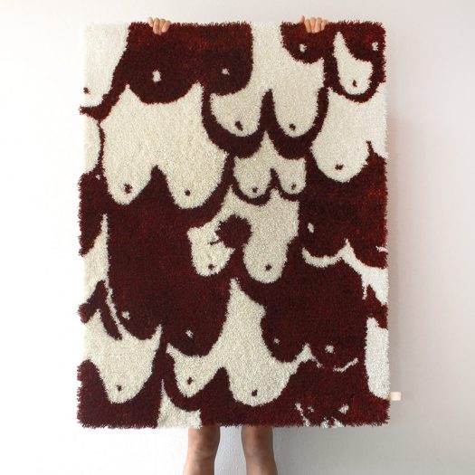 Butler Lindgard Traces Nipple Hairy Stained textiles