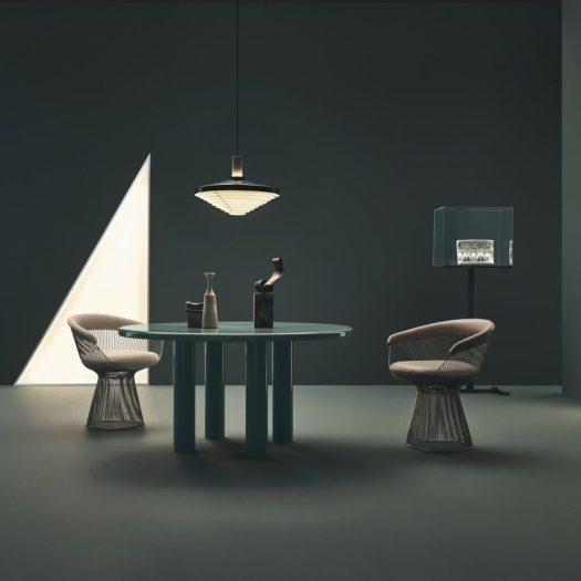 Barber and Osgerby Knoll Smalto enamel table
