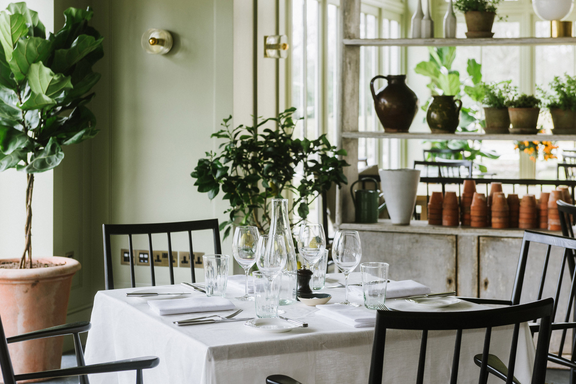Marle restaurant Heckfield Place hotel by Ben Thompson