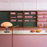 Child Studio Looks To Formica Cafes For Pink Interiors Of Humble Pizza