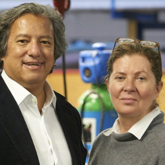 Ilse Crawford and Oscar Peña