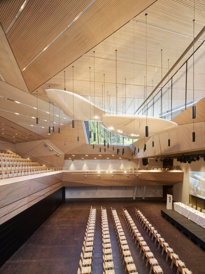 Andermatt Concert Hall in the Swiss Alps by Studio Seilern Architects