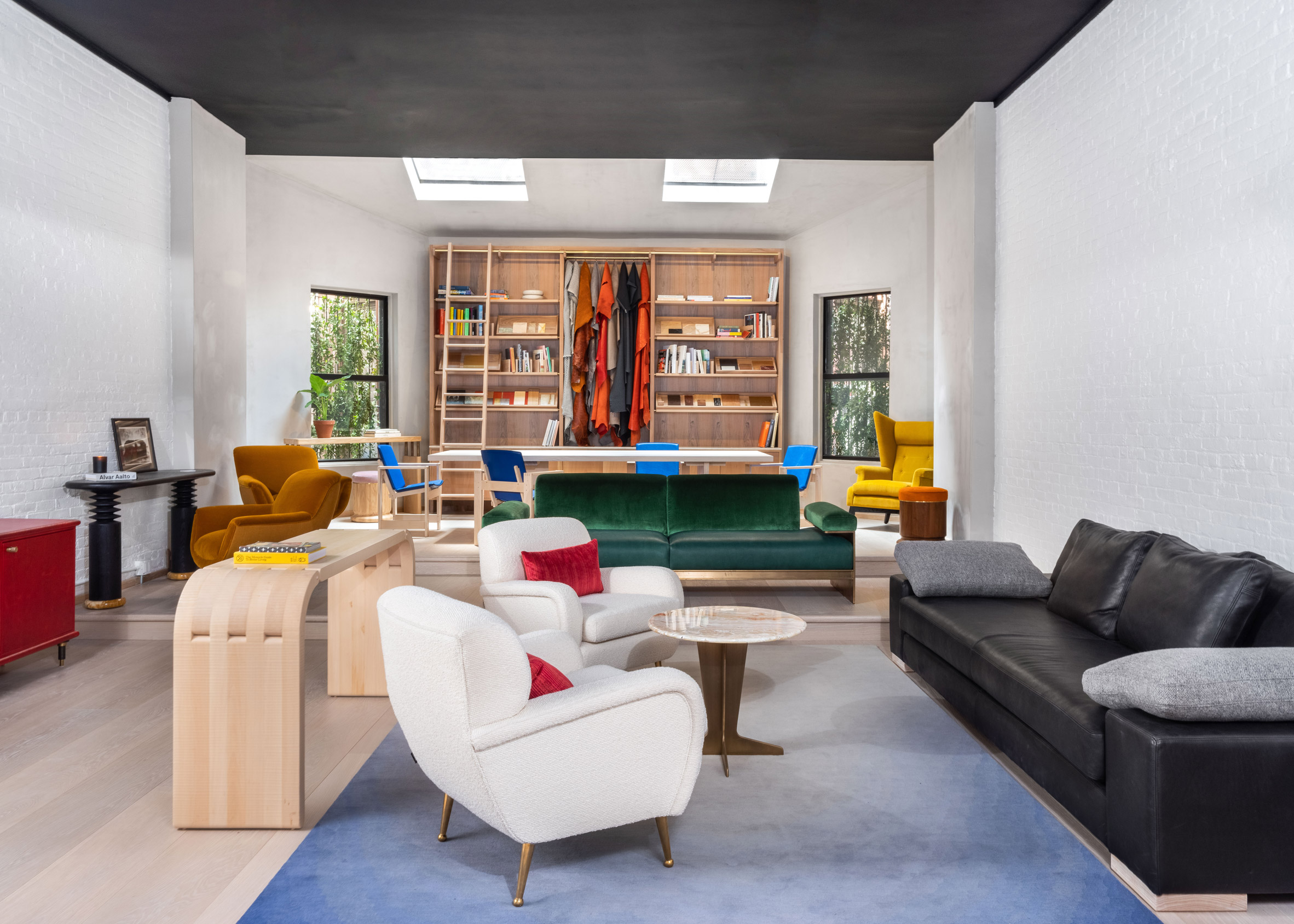 Orior Revives Colourful Retro Furniture In New York Showroom Free Autocad Blocks Drawings Download Center
