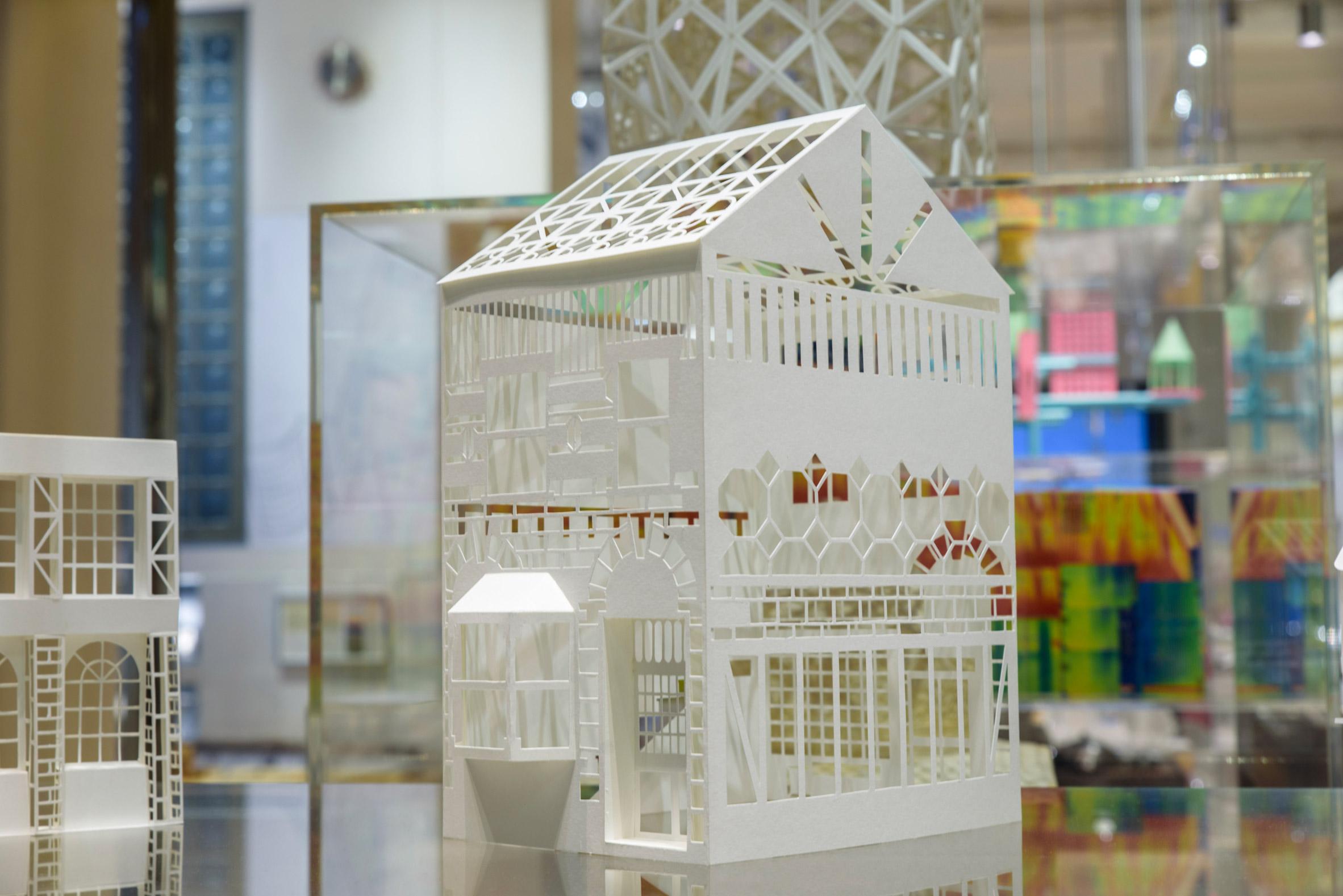 Paper Castles, London Festival of Architecture 2019
