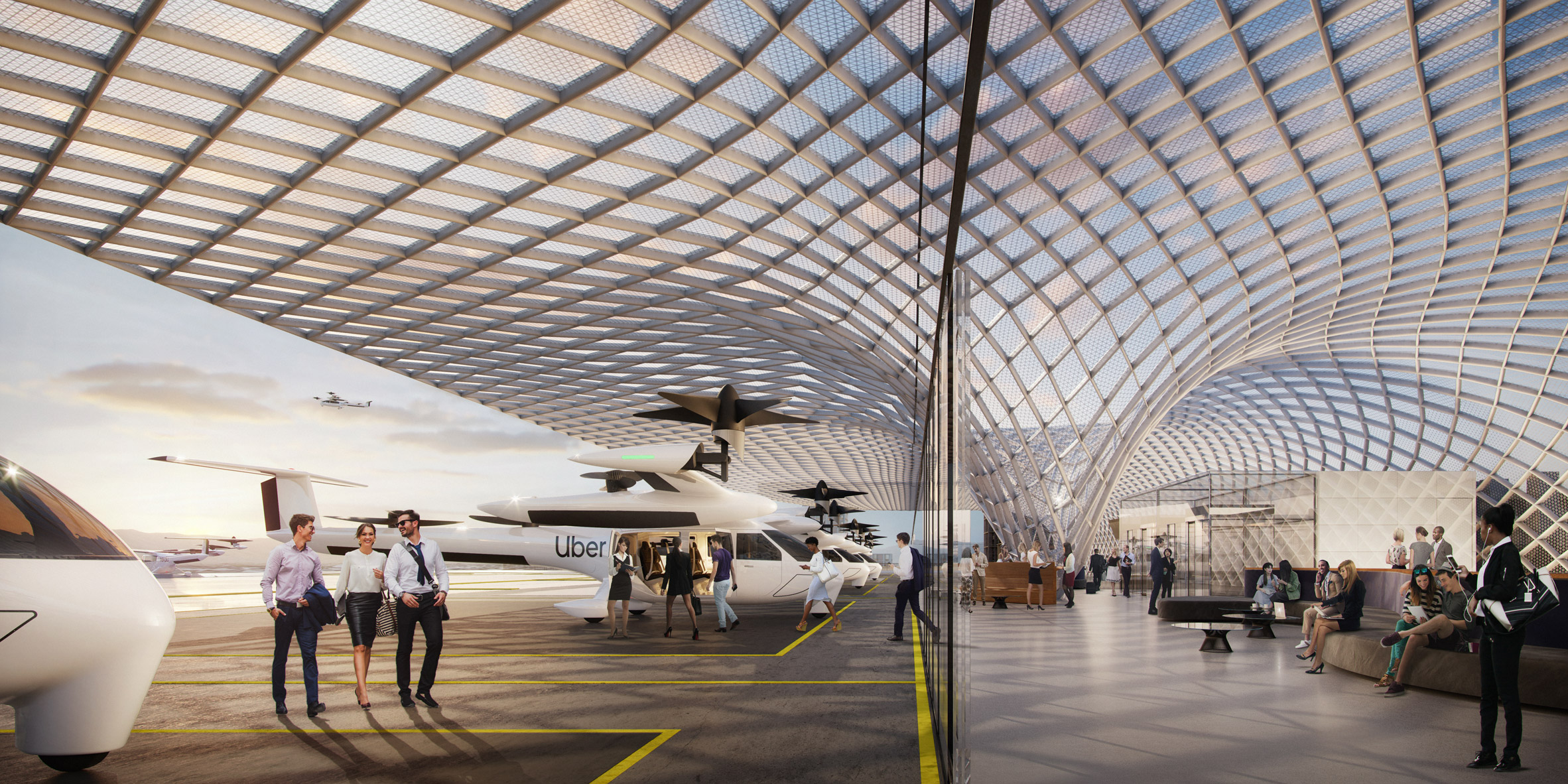 Uber Elevate by Foster Partners
