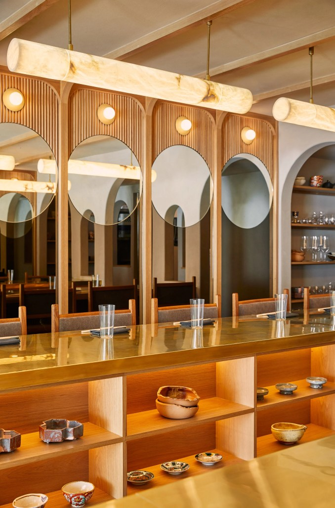 Tsukimi Restaurant in New York City by Studio Tack