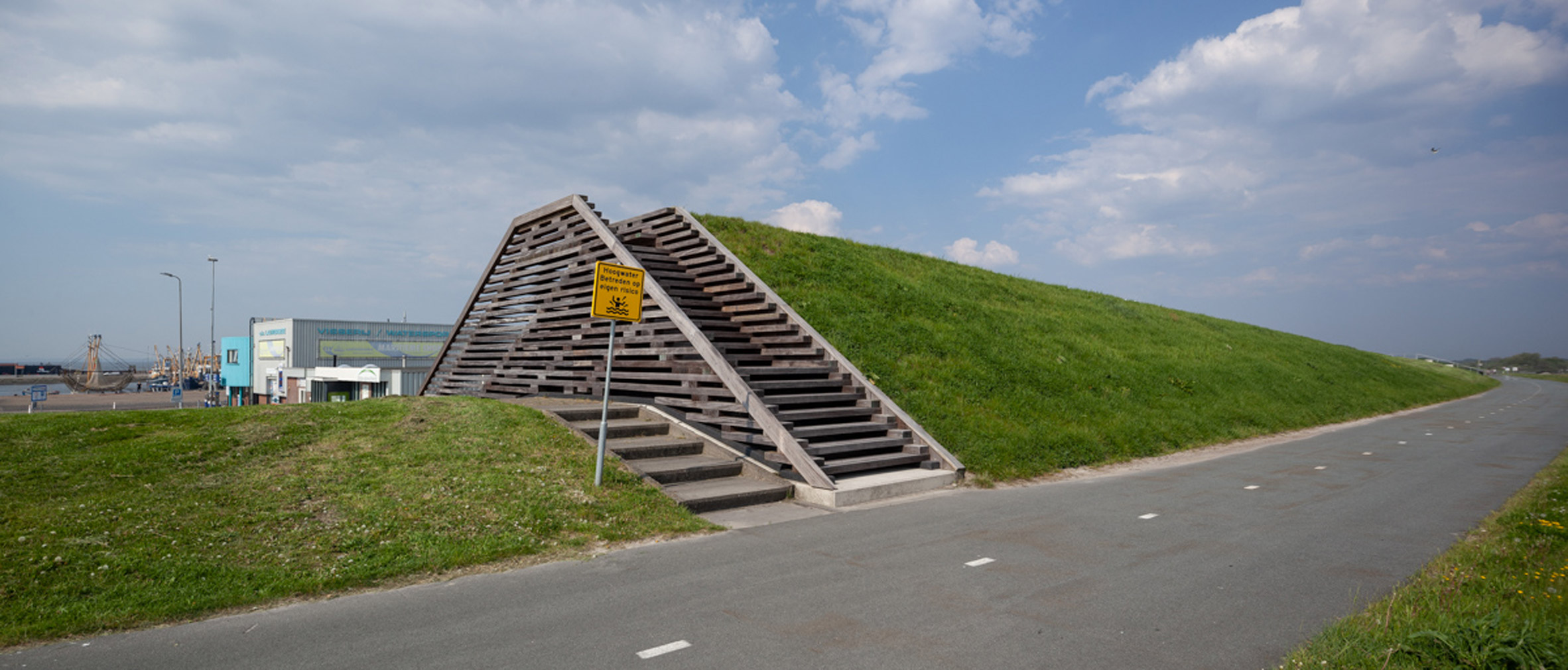 Viewpoints at Lauwersmeer National Park by Vector-I Architects