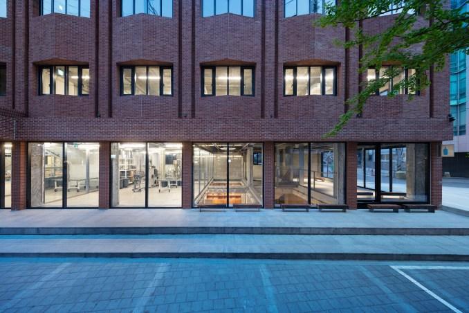Blue Bottle Coffee cafe in Seongsu by Schemata Architects