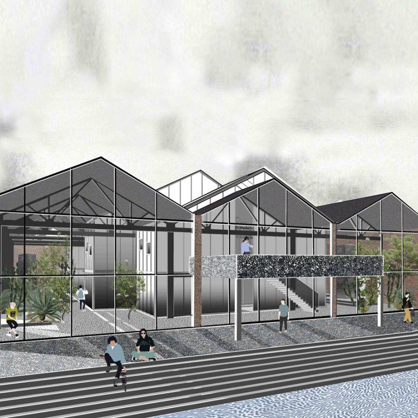 Carbon Capture Facility by Royal College of Art graduate Rhea Adaimi