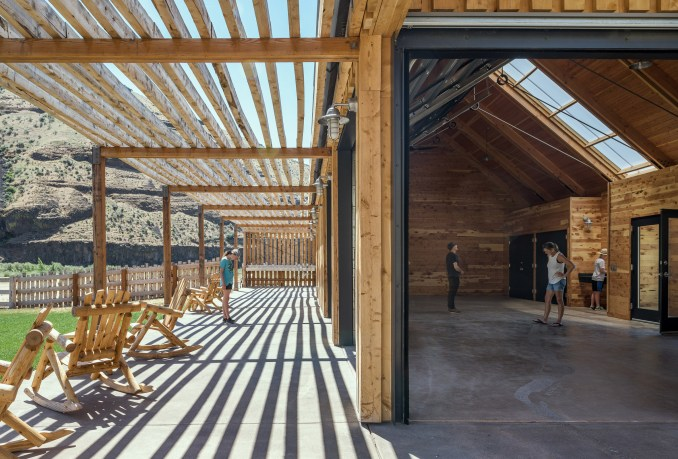 Cottonwood Canyon State Park Experience Center by Signal Architecture + Research