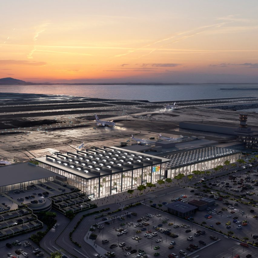 Marseilles Provence Airport expansion plans by Foster + Partners