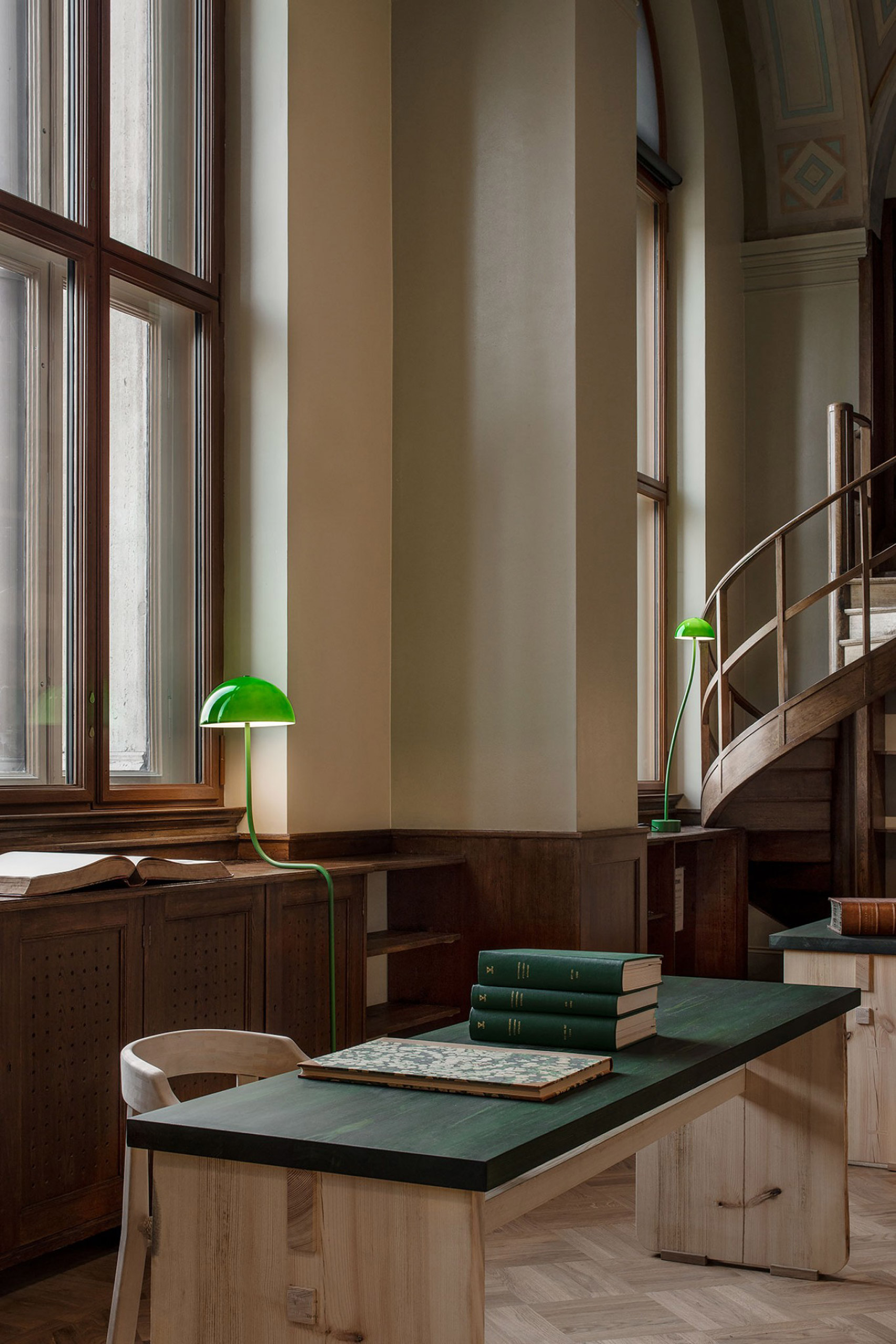 The Old Library at the National Museum Stockholm by Emma Olbers Design