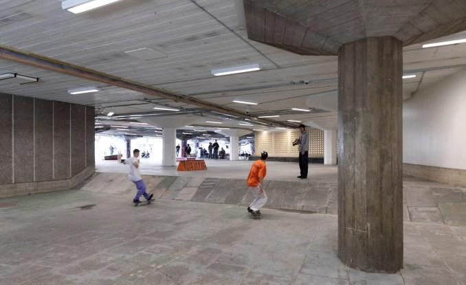 Southbank Undercroft Skate Space by Feilden Clegg Bradley Studios