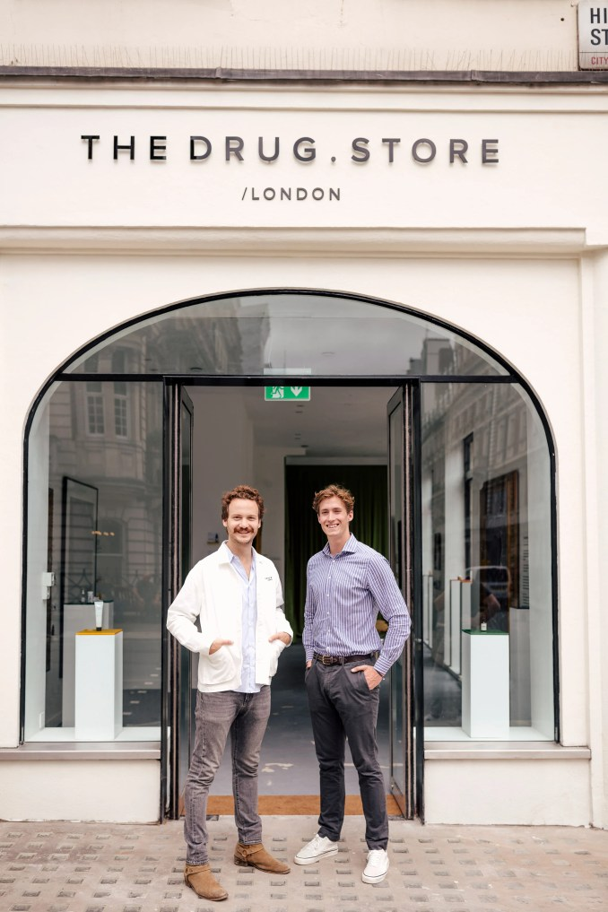The Drug Store in London's Marylebone, designed by Johan Obel and Clemens Böninger