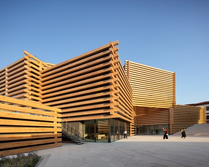 Odunpazari Modern Museum in Eskisehir, Turkey, by Kengo Kuma