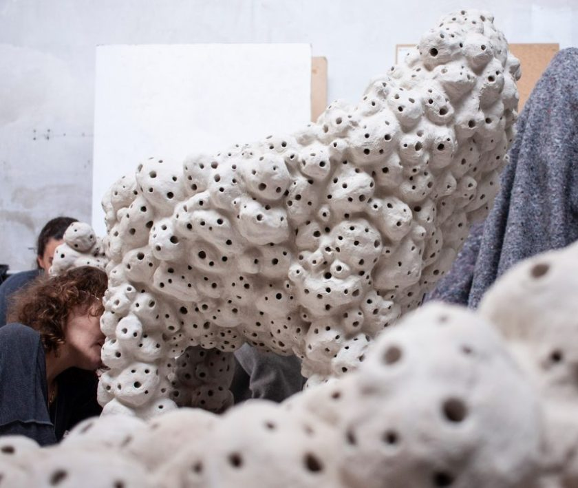 """Marlène Huissoud creates sculptural """"hotels"""" for city-dwelling insects"""