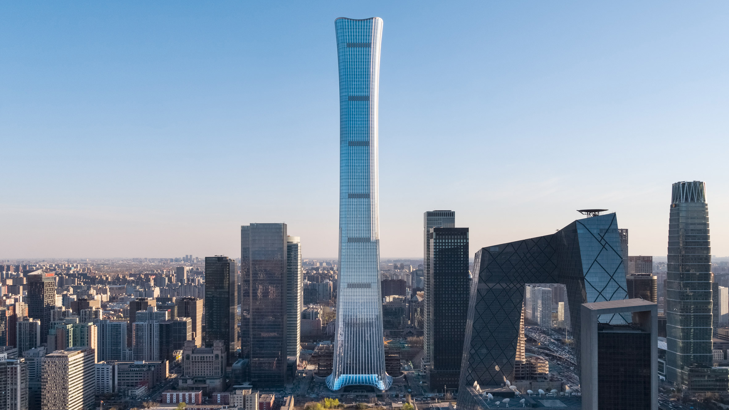 KPF completes Beijing's tallest skyscraper: CITIC Tower