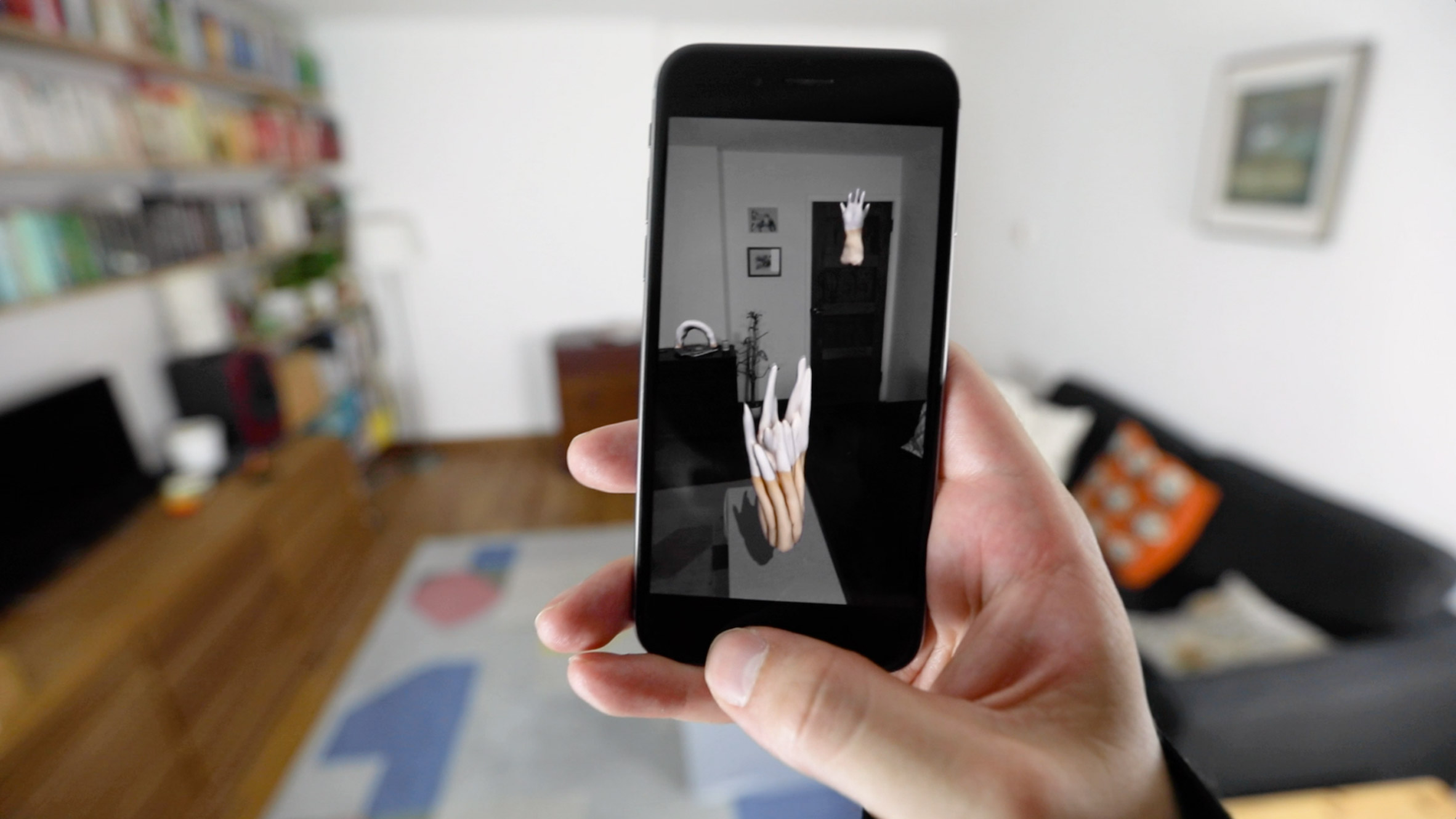 Moonmoon AR app