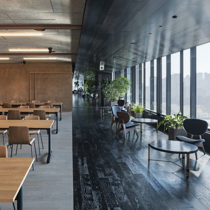 Slack Tokyo office, designed by Suppose Design Office
