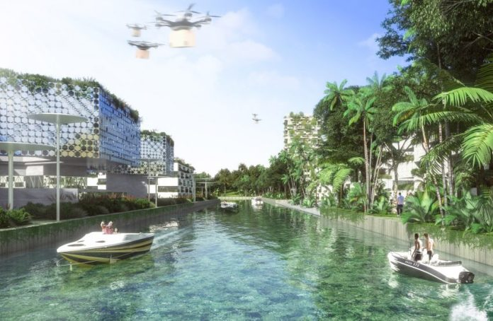 Smart Forest City Cancun by Stefano Boeri