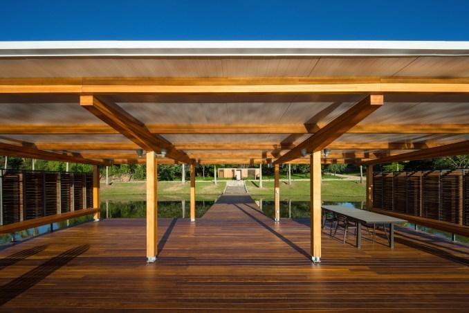 Floating Pavilion by Bruno Rossi