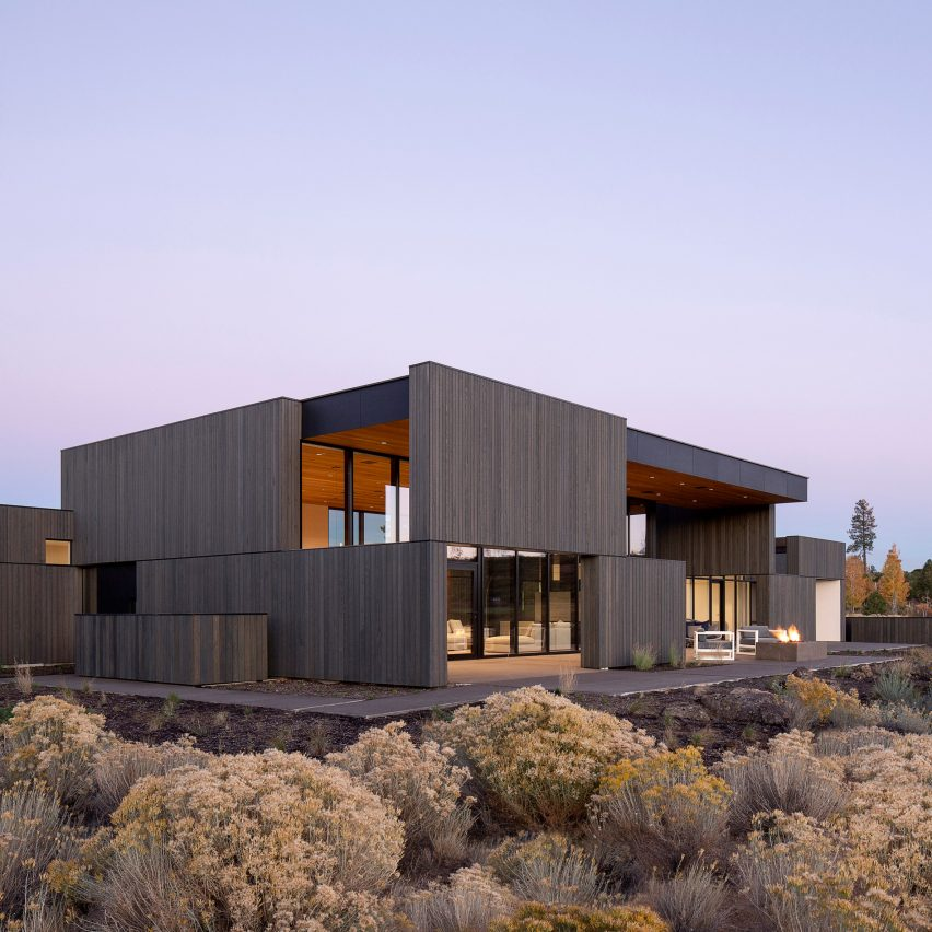 High Desert Residence by Hacker Architects