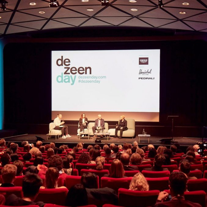Future cities panel discussion at Dezeen Day