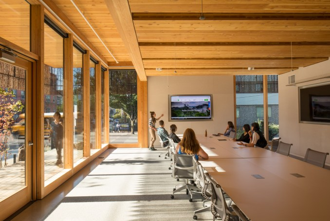 Oregon Conservation Center by Lever Architecture