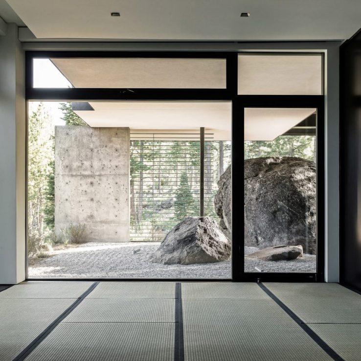 Creek House par Faulkner Architects