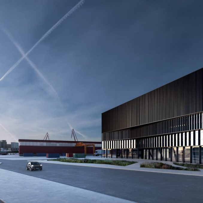 Uni3 design centre for Geely and Lynk & Co in Gothenburg, Sweden, by COBE