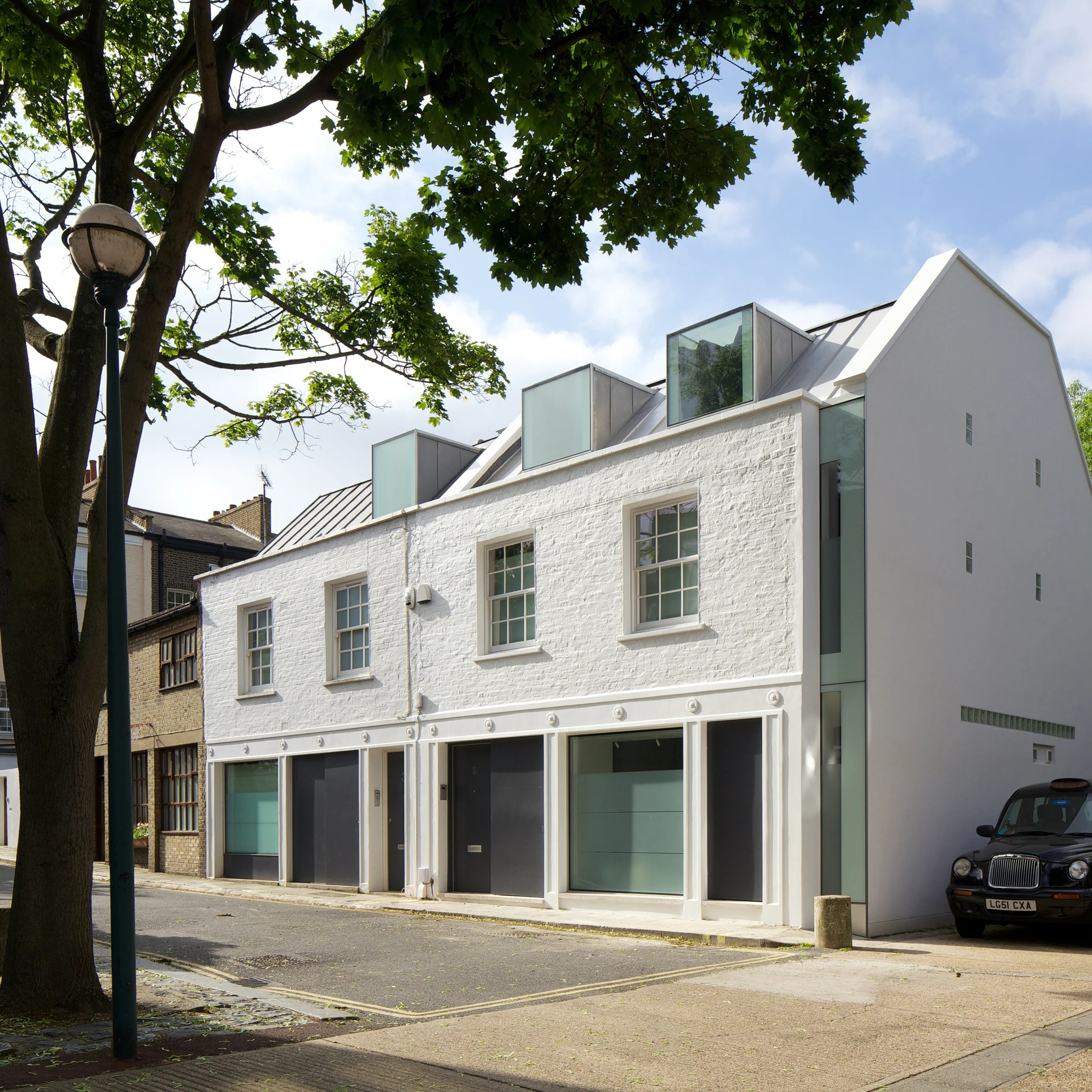 12 London mews houses