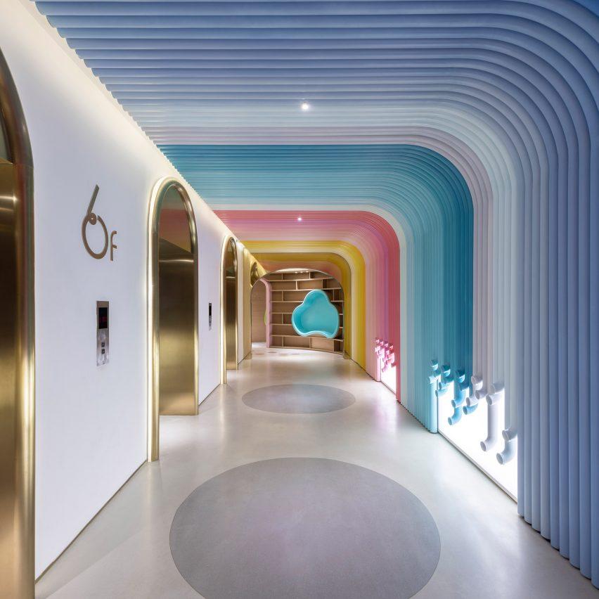 """Arizon's interiors facilitate """"surprising spatial experiences"""""""