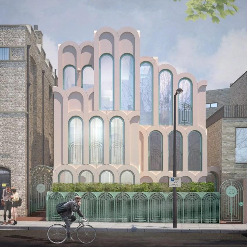 Cloud House by Peter Morris Architects in Gospel Oak, North London