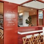 Burnt Red Tiles And Hessian Feature Inside Dough Pizza Restaurant In Perth