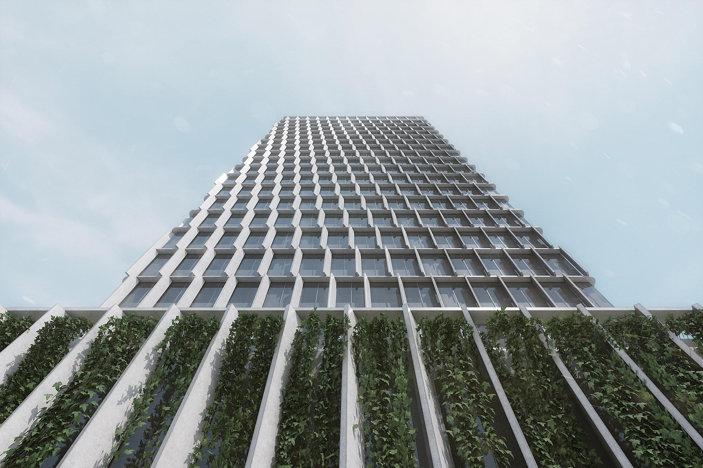 PILA designs facades to rejuvenate Greece's long-abandoned Piraeus Tower