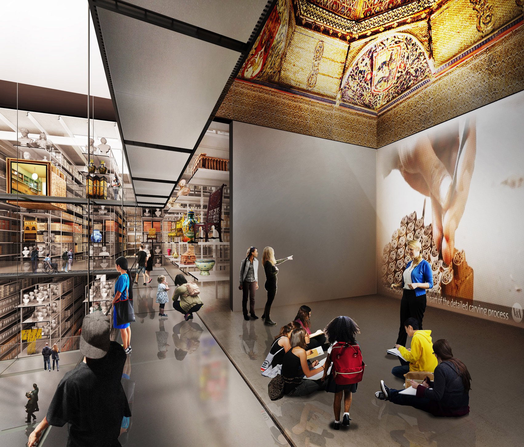 V&A East collection centre by Diller Scofidio + Renfro