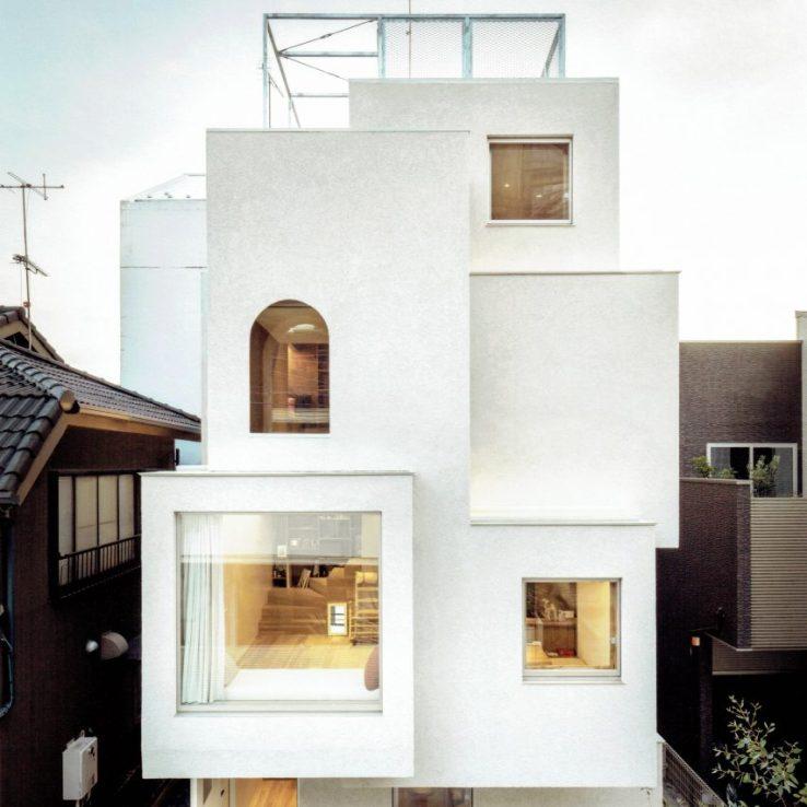 Maison dans la ville par Ryosuke Fujii