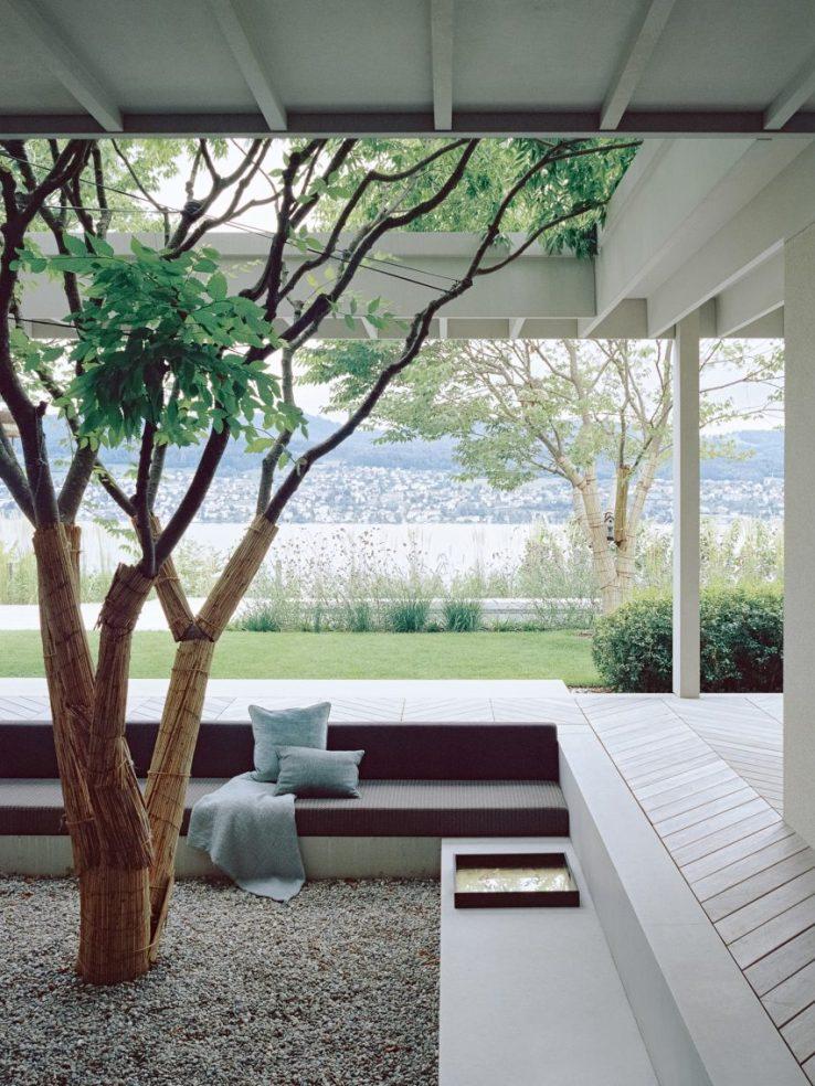 Maison dans un vignoble à Zurich, Suisse conçu par Think Architecture
