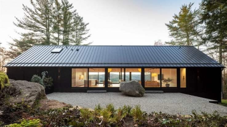 Ledge House par Desai Chia Architecture