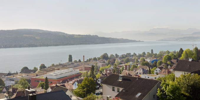 Lindt Home of Chocolate by Christ & Gantenbein in Kilchberg on Lake Zurich