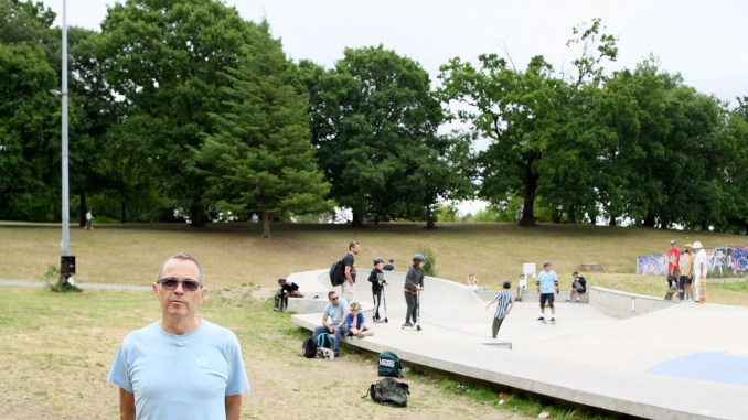 Crystal Palace Skatepark in London