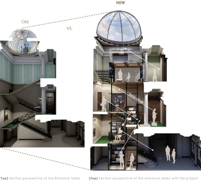 ECA's interior design students imagine cultural centres for Edinburgh