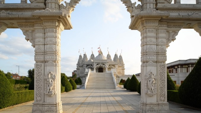 Still of Open House London's short film on Neasden Temple