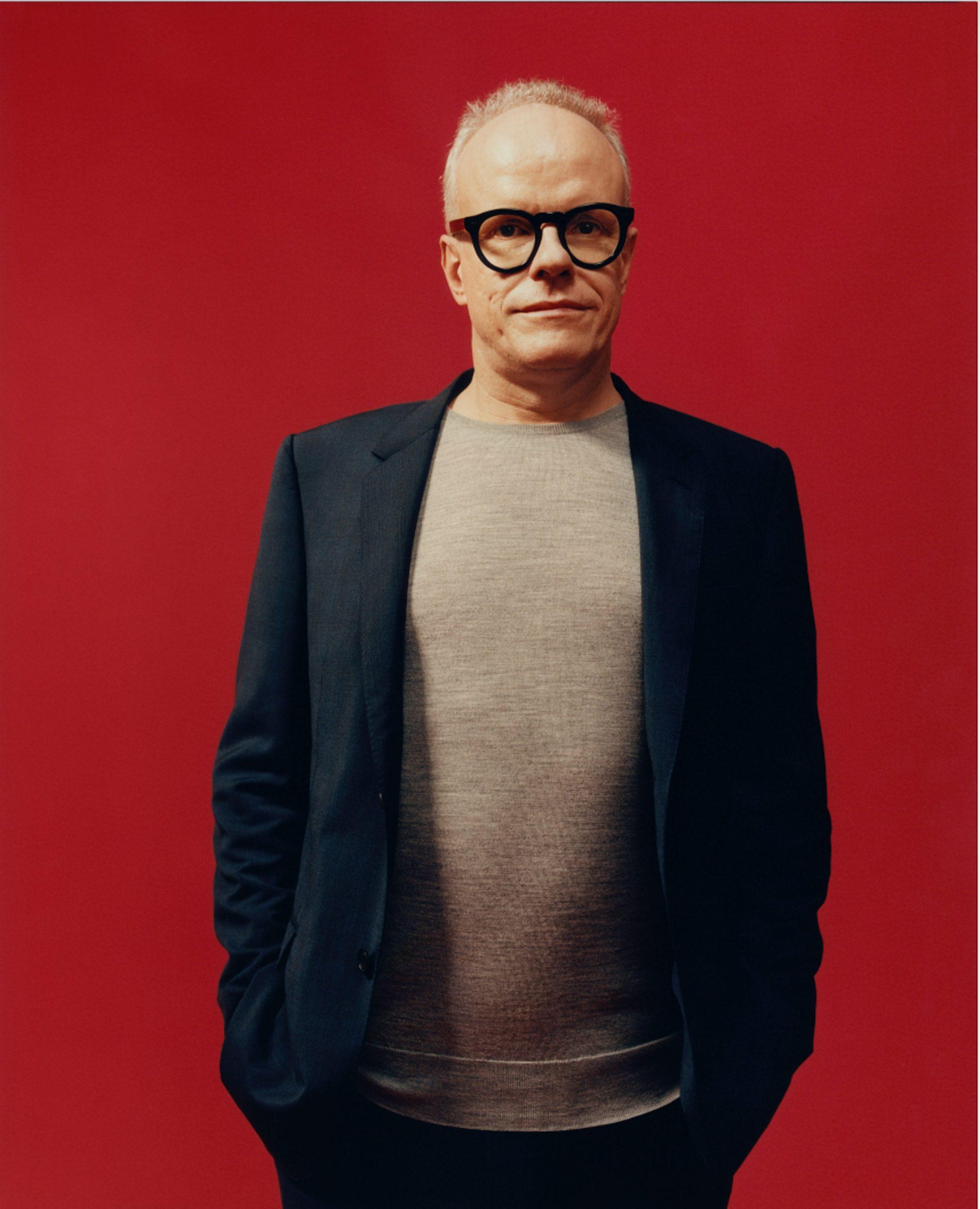 Hans Ulrich Obrist, Serpentine Gallery artistic director, portrait