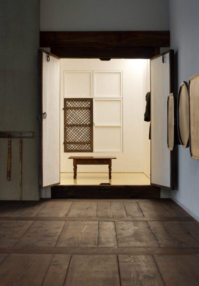 Interiors of DooSooGoBang restaurant by Limtaehee Design Studio