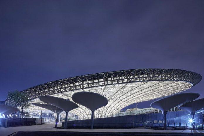Sustainability Pavilion by Grimshaw at Dubai Expo